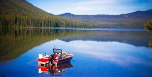 boat in lake 2